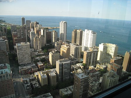 A view from Angie's friend's condo.  Amazing... and a bit vomit-inducing for those with a fear of heights.