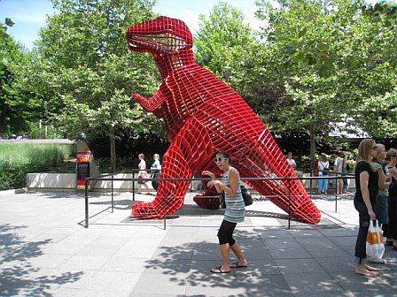 Rawr!  Oh T-Rex... your tiny little arms make me sad.