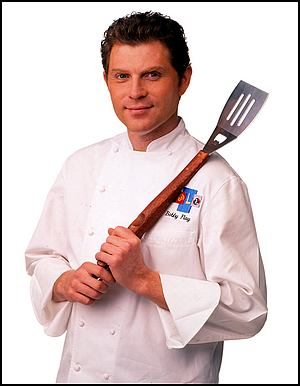 A photo of chef Bobby Flay