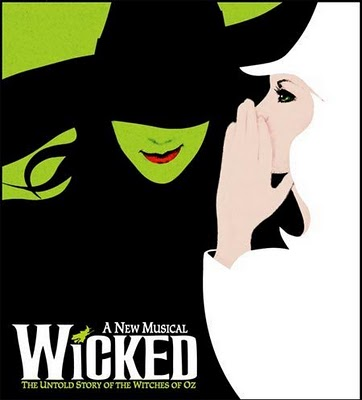 A photo of the Wicked official show poster.