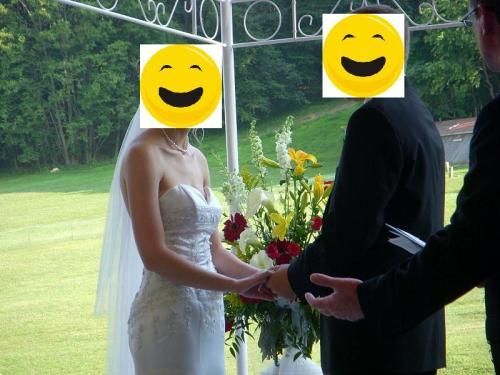 My wedding dress on someone else