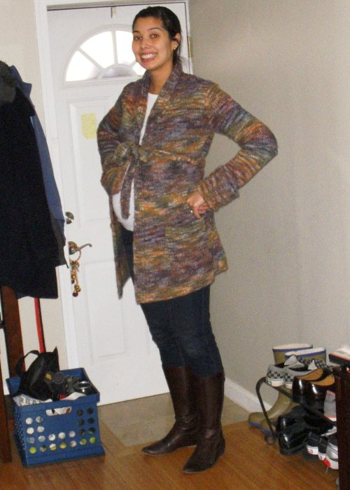 a photo of what I wore