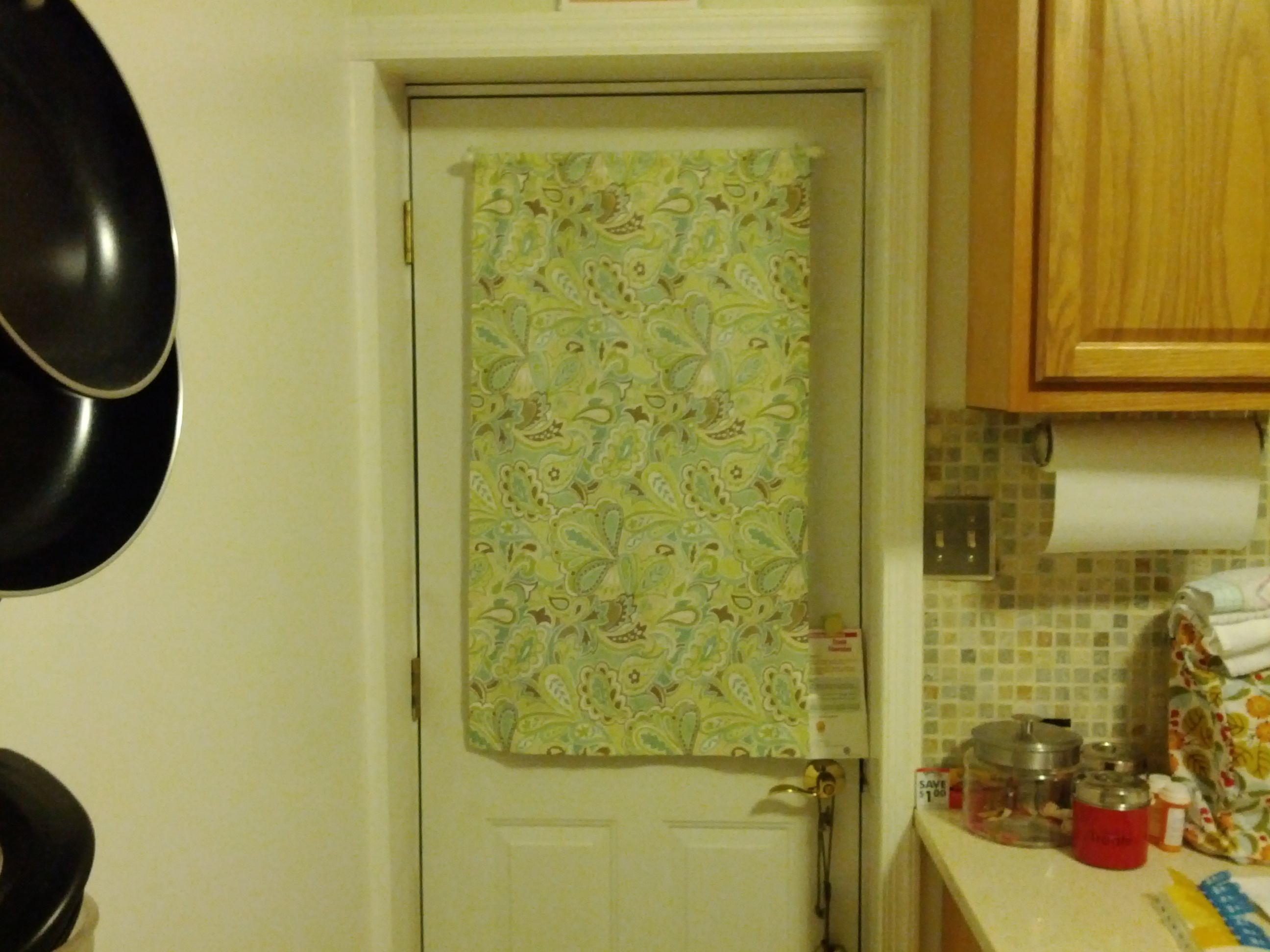 I Sewed This Door Curtain ...